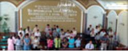 Российские таджики моляться о пробуждении Таджикистана