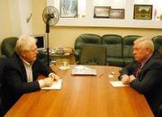 Состоялась встреча Председателя РСЕХБ пресвитера А.В.Смирнова с глобальным Послом ВЕА Брайеном Стиллером