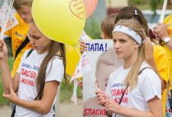 Кировские христиане прошествовали по улицам Кирова, призывая отказаться от абортов