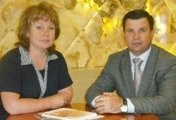 Руководитель ОВЦС РС ЕХБ пресвитер В.К. Власенко встретился с министром национальной политики Республики Коми Г.И. Габушевой