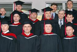 Десять бакалавров из десятого набора