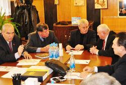 Служители церквей ЕХБ Брянской области встретились с депутатами областного законодательного собрания