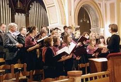 В Московской центральной церкви ЕХБ прошел праздник хора