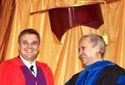 Присуждение докторской степени Юрию Кирилловичу Сипко