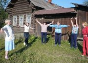 В лагере мы стали счастливее