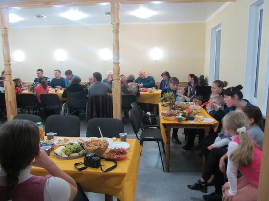 Благотворительный ужин в г.Тула