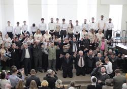 Освящение Дома молитвы в Новокузнецке