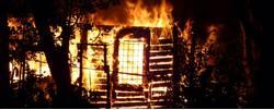 У миссионера Георгия Гвоздева сгорел дом