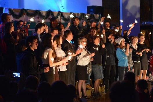 Показ рождественского мюзикла «Станция «Рождество».