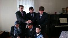 Пребывание заместителя председателя РС ЕХБ Сипко С. Ю. в Архангельской области