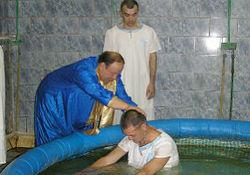 Впервые в смоленской колонии состоялось водное крещение евангельских христиан-баптистов
