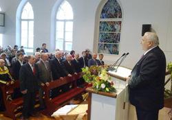 Таллиннская церковь ЕХБ «Вифания» отметила 100 лет со дня основания