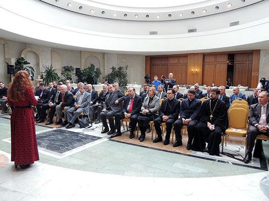 Торжественный прием, посвященный 140-летию Синодального перевода Библии в фотографиях