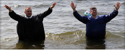Крещение московских церквей ЕХБ