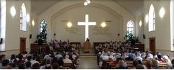 Юбилей Церкви ЕХБ в г. Ставрополе