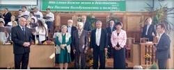 Жатва и рукоположение в церкви г. Георгиевска, Ставропольского края