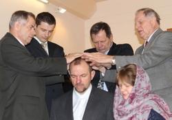 Рукоположение в церкви ЕХБ г. Мичуринска