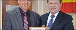 Благодарственное письмо от мэра г. Новочеркасска