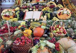 """Фоторепортаж: """"Земля дала плод свой; да благословит нас Бог"""""""