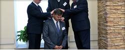 Фоторепортаж о выборах председателя Московского объединения церквей ЕХБ