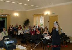 Семинар сестер по благовестию в Архангельске