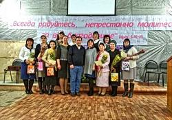 Выпускной в центре обучения сестер в городе Твери