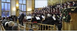 Рождественский вечер в Бежице