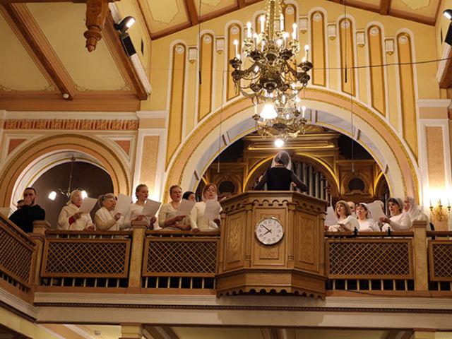 Фоторепортаж о крещении в Московской  центральной церкви ЕХБ в день Крещения Господня