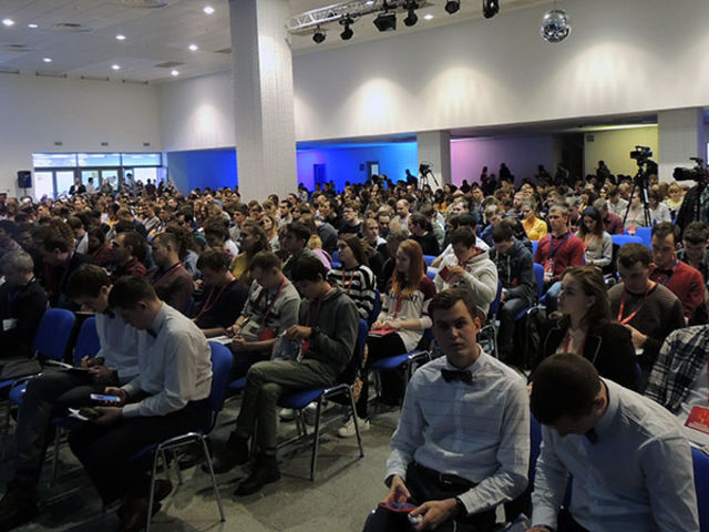 Фоторепортаж об открытии молодежной  конференции «Поколение для Христа» 2018