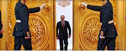 Поздравление В.В. Путина с избранием на пост Президента Российской Федерации.