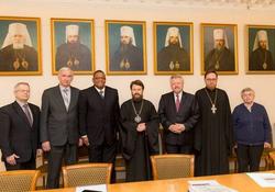 Встреча в Отделе внешних церковных связей РПЦ
