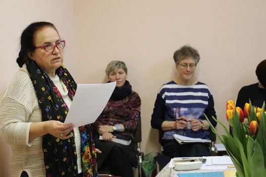 Возлюбленные сестры во Христе, со работницы в служении женщинам России!