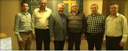 Встреча Руководства РС ЕХБ с руководством Союза церквей ЕХБ Крыма