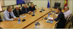 Встреча руководства РС ЕХБ с Администрацией Краснодарского края
