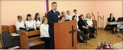 Освящение Дома молитвы в г. Белогорске, Амурской области