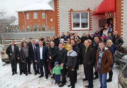 Освящение Дома Молитвы в г. Касимове