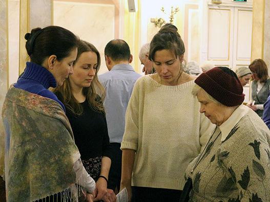 «Научи нас молиться» - фоторепортаж  о молитвенной конференции в Москве