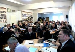 Ежегодная отчетная конференция рукоположенных служителей Подмосковья