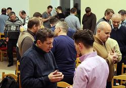 Фоторепортаж о братской молитвенной конференции Московского объединения церквей