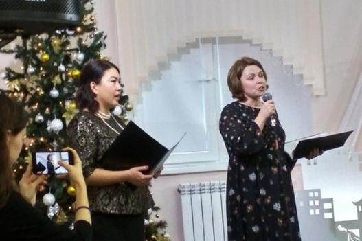 Рождественская встреча сестер в Элисте