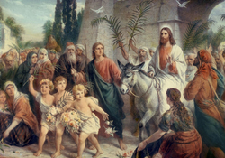 Поздравляем вас с днем торжественного въезда Христа в Иерусалим!