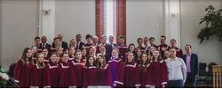 Поездка молодежного хора церкви «Поклонная гора», Санкт-Петербург