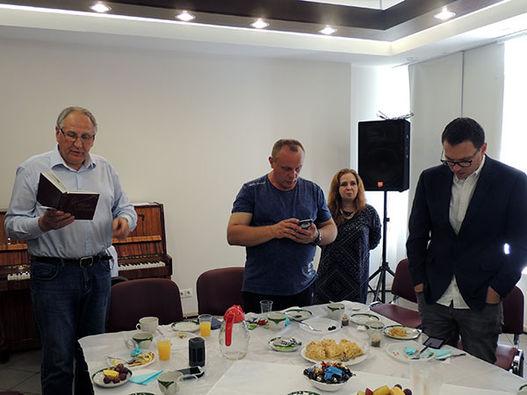 Фоторепортаж о праздновании юбилея П.В. Мицкевича