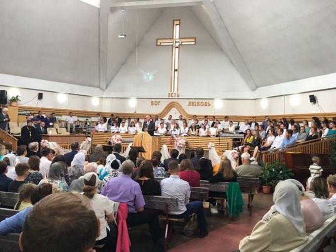 Юбилей церкви в Калининграде