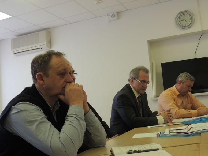 Заседание комитета внешних связей и СМИ в рамках Совета Союза.