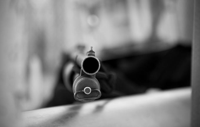 Стрельба и поражение