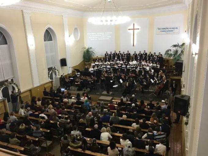 Рождественский концерт в Курске