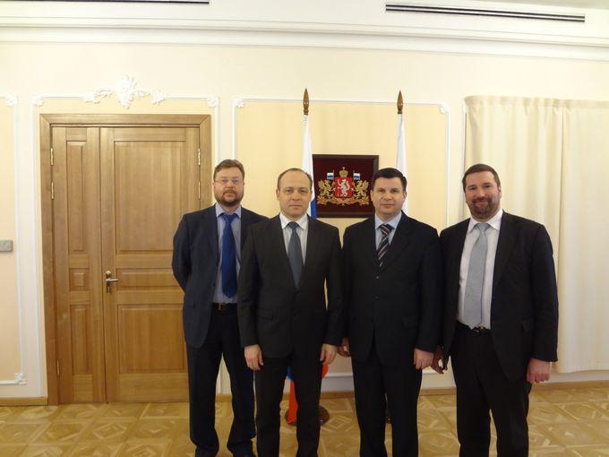 Руководитель ОВЦС РС ЕХБ В.К. Власенко посетил город Екатеринбург