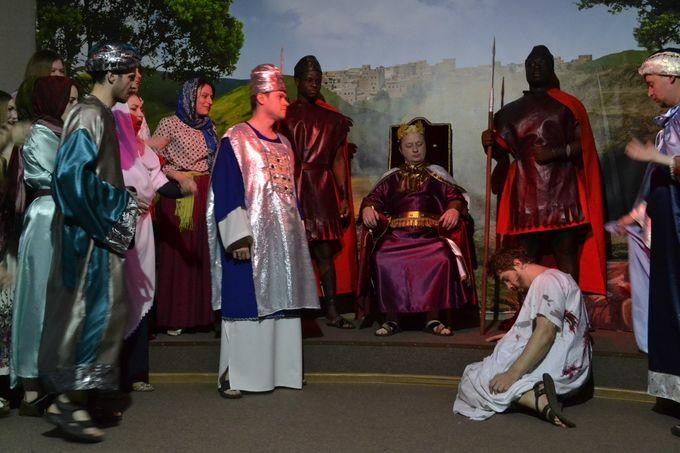 Евангельская история в сценическом воплощении