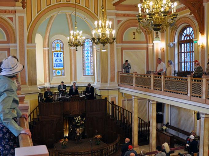 Вознесение Господне в Московской центральной церкви ЕХБ
